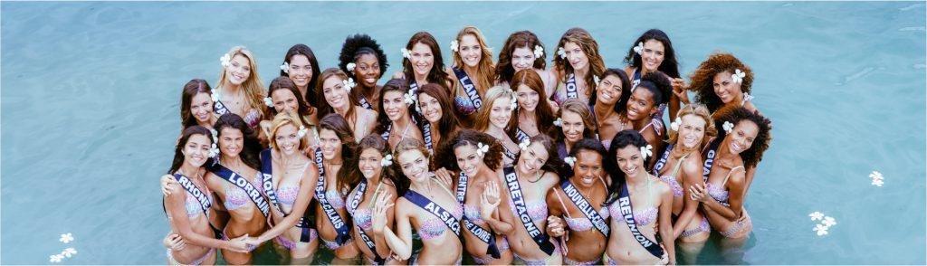 Candidates élection Miss France